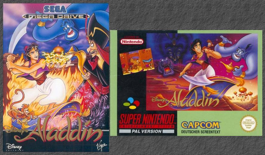 The Console Wars: Aladdin Vs…Aladdin?