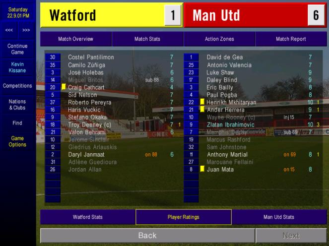 Utd Matchday 7