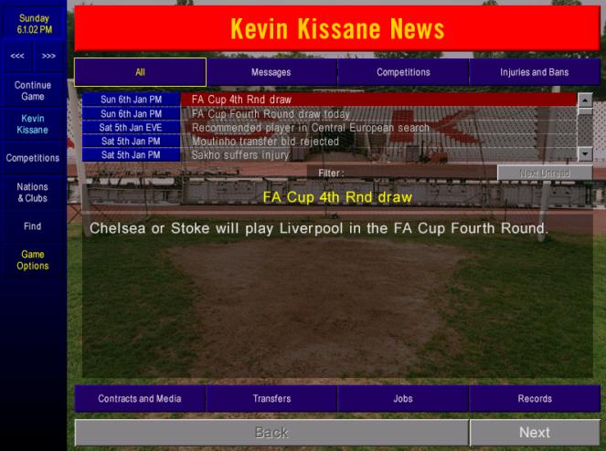FA cup 4 draw