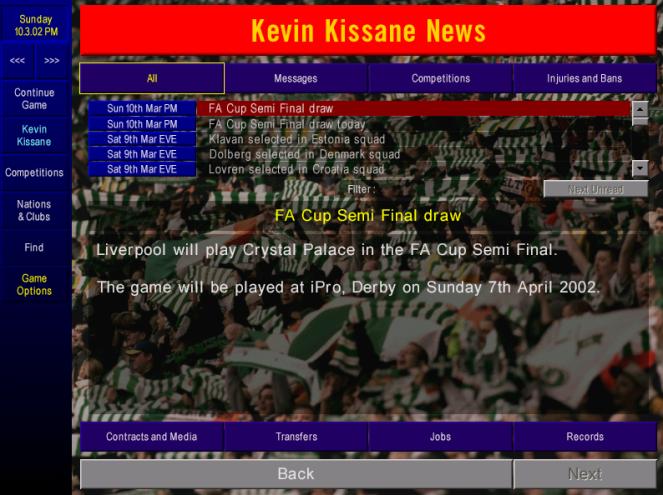 FA cup semi draw