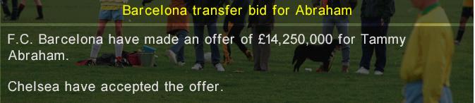 Transfer ban 19