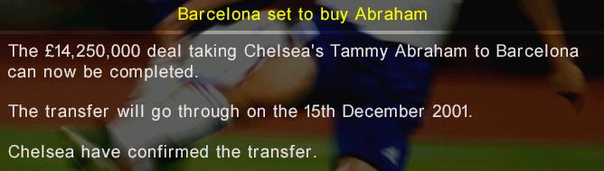 Transfer ban 22