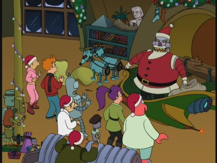 Animation Advent Calendar – 12 Days of Christmas #6 – Futurama: XmasStory
