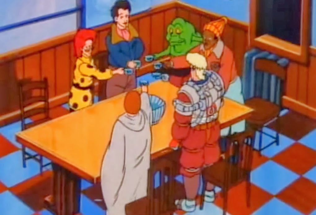 Animation Advent Calendar – 12 Days of Christmas #2 – The Real Ghostbusters: Xmas Marks theSpot