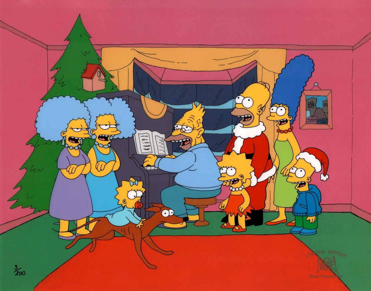Animation Advent Calendar – 12 Days of Christmas #1 – The Simpsons Roasting on an OpenFire